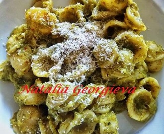 Orecchiette al Pesto di Broccoli