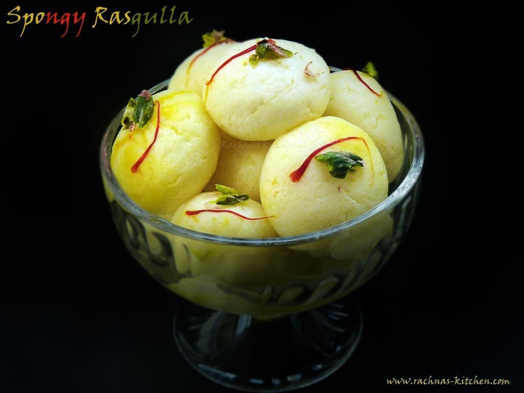 Rasgulla Recipe | Spongy Rasgulla Recipe