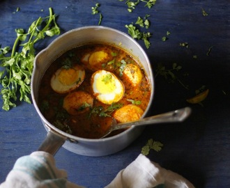 Egg Curry/ Anda Masala/ Dim er Jhol