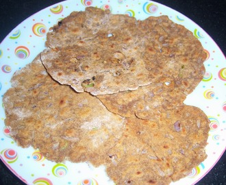 Sorghum Roti -- Jowar Thepla Recipe -- How to make Jowar Thepla
