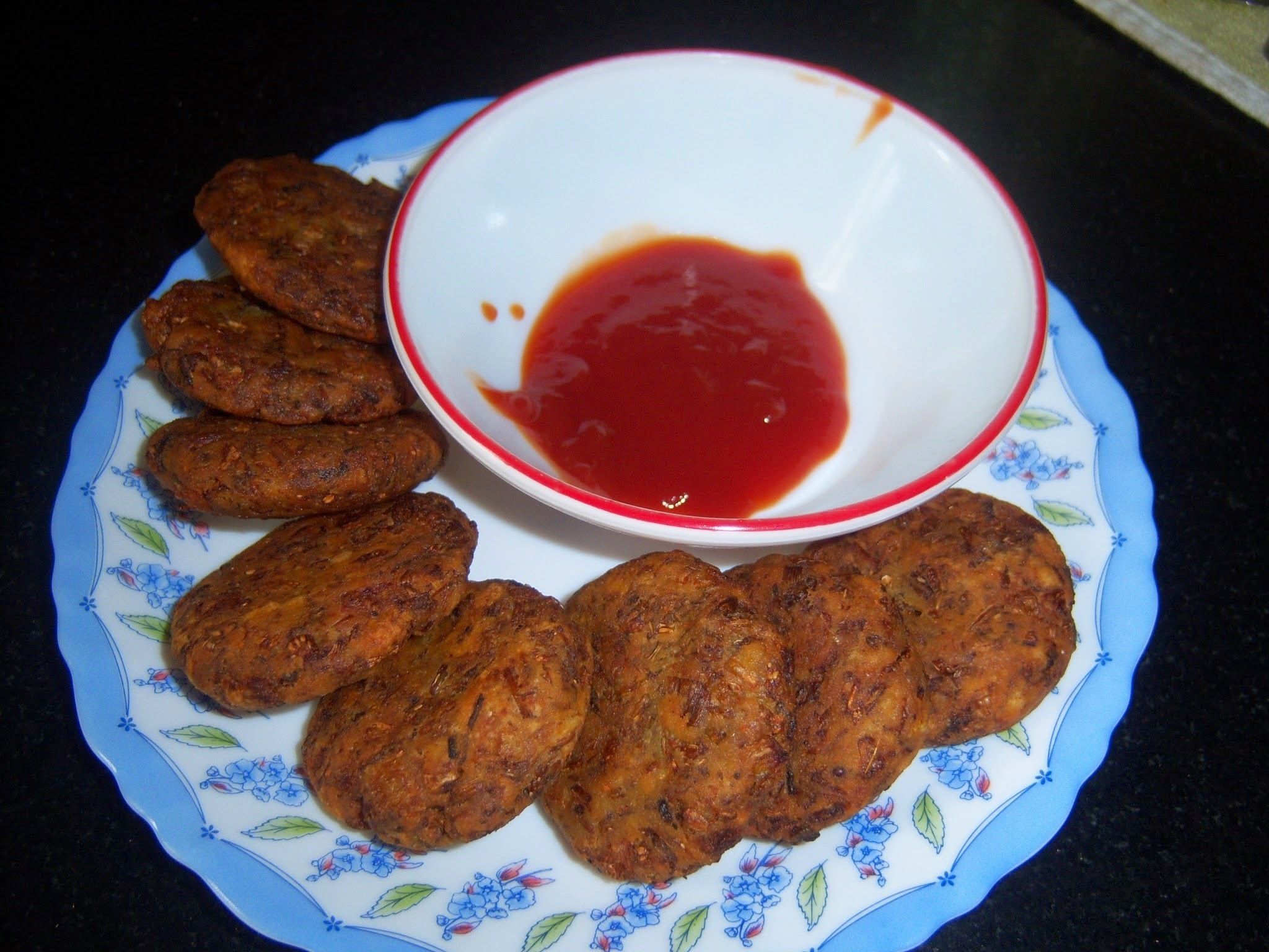 Banana Flower fritter -- Arati Puvvu Vada -- How to make Banana Flower Fritter Recipe