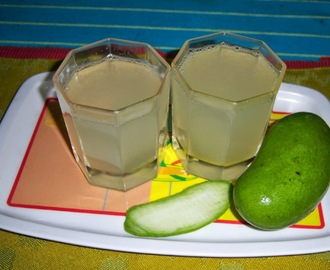 Raw Mango Juice -- How to make Raw Mango Juice -- Aam Panna Recipe