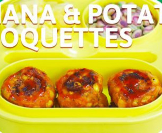Channa Potato Croquette Recipe