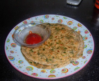 Methi Paratha/Paratha with Fenugreek leaves