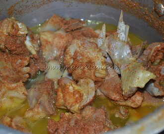 Mutton Ridge gourd Curry