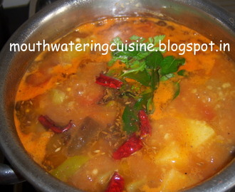Dhappalam/Mixed veg soup