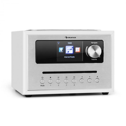 Silver Star CD Cube radio Bluetooth HCC display vit
