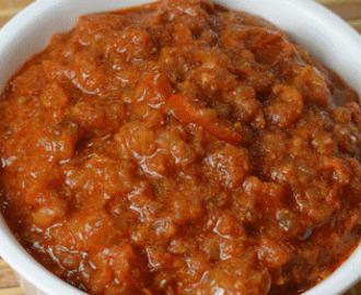 Basic Onion Tomato Gravy Using Pressure Cooker