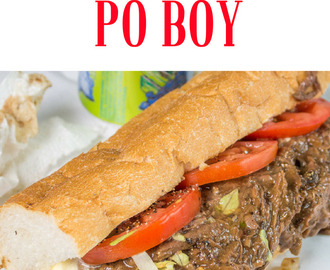 Traditional Roast Beef Po Boy