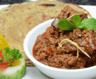 Roasted Mutton Curry Rara Gosht