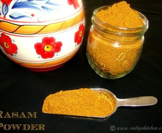 Rasam Powder Recipe / Homemade Rasam Powder Recipe