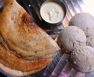 Black Urad Dal Idli & Dosa Recipe / How to Make Idli, Dosa Batter in Mixie