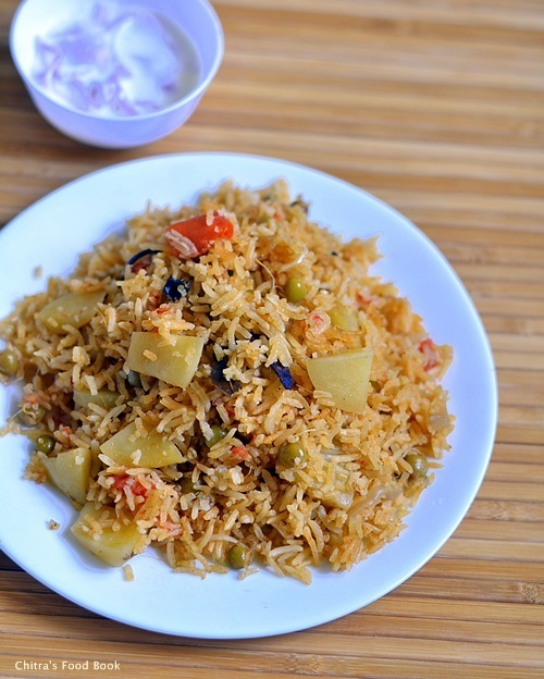 Anjappar Biryani Recipe In Rice Cooker-Sunday Lunch Recipes Series-14