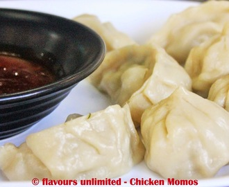 Steamed Chicken Momo Recipe - Step By Step With Pictures