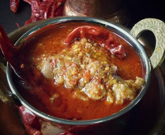 Laal Maans(Rejasthani Style Hot Spicy Mutton Curry)