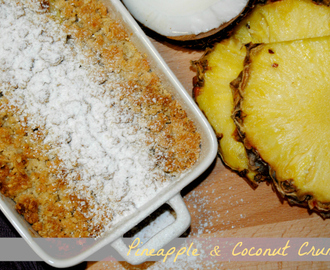Go Cooking: Pineapple and Coconut Crumble