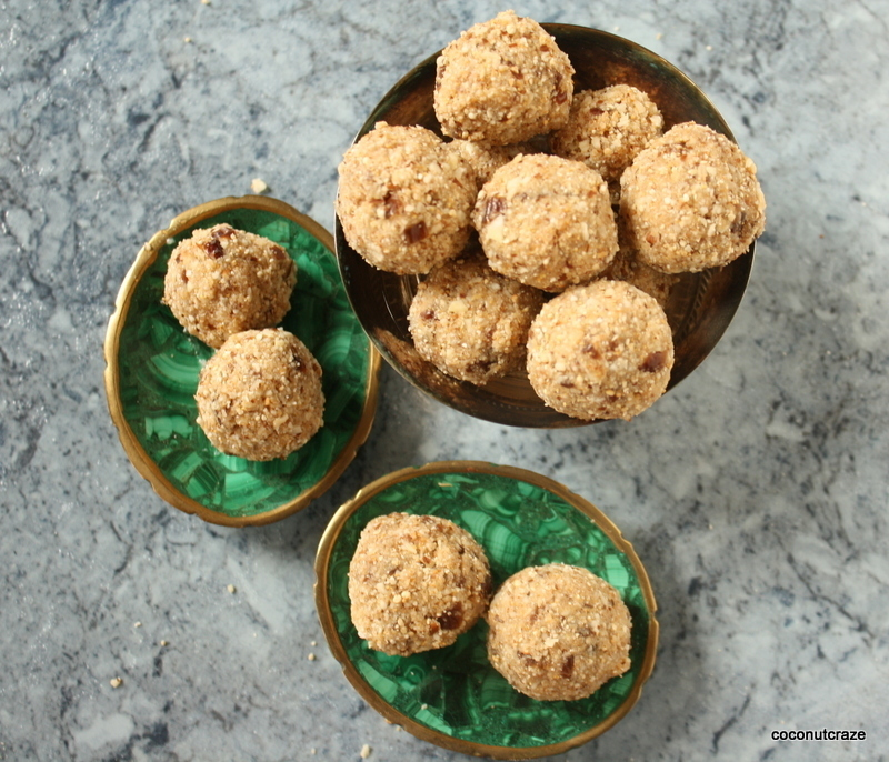 Crunchy Snack balls – Guest Post from Sridevi