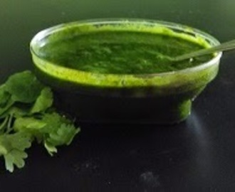 Green Chutney for chat