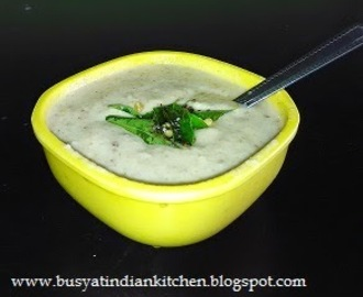 Raw Mango  - Coconut Chutney