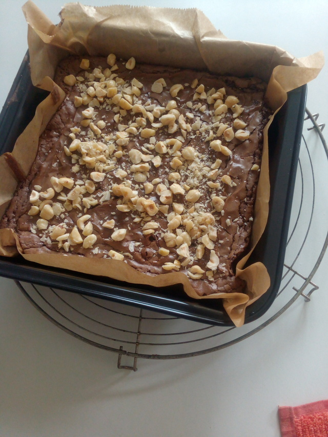 brownies au nutella