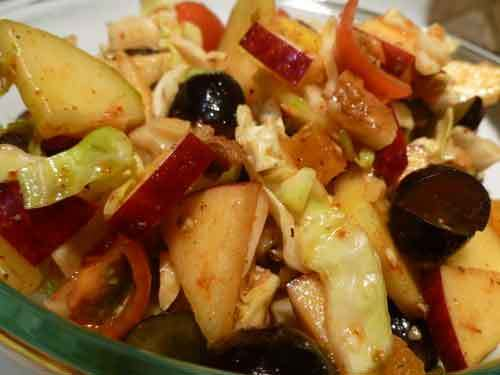 Fruits and Vegetable Summer Salad Recipe