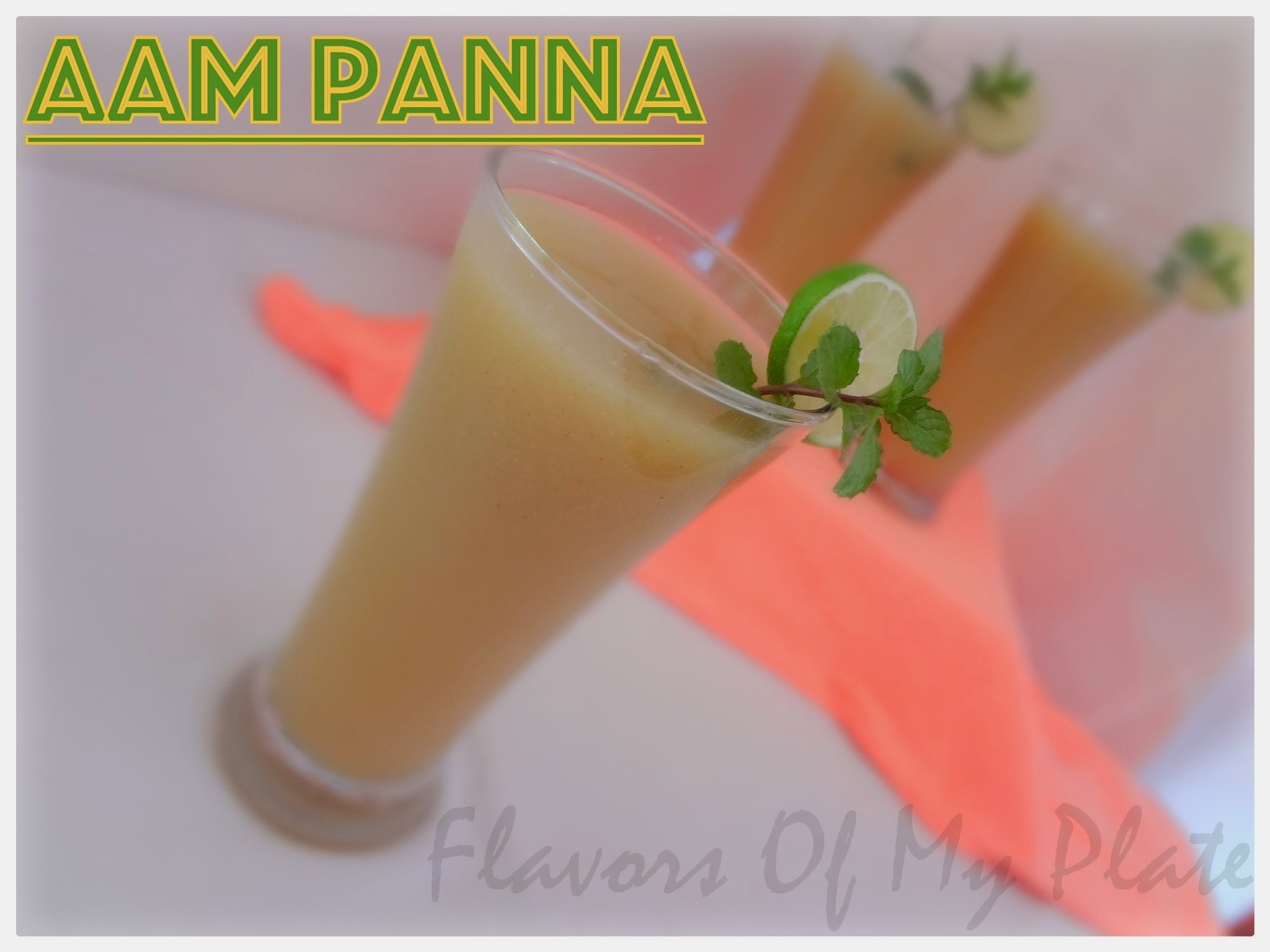 Aam Panna...Let's Beat the Heat In A Bong's Way