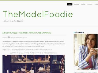 The Model Foodie