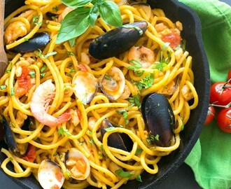 Quick Seafood Fresh Pasta