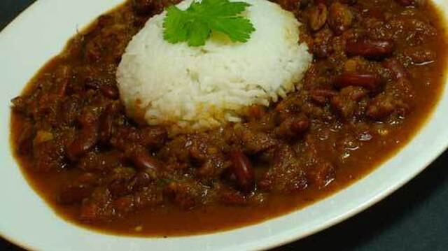 Kidney Beans Curry (Rajma)