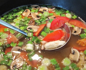 Tom Yum Gai - Thai suppe med umami