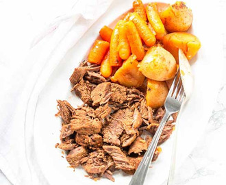 Instant Pot Pot Roast With Potatoes