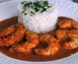 "LANGOSTINOS AL CURRY o ""CURRY GAMBA STYLE"""