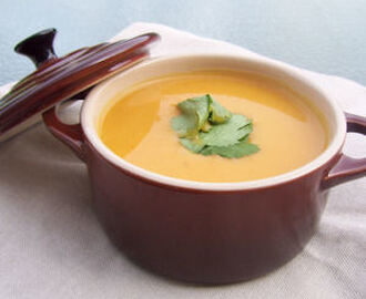 Veloute de courge et patate douce au curry (4 PP)