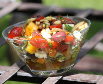 Mexican-Style Summer Olive Salad