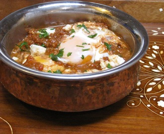 Utterly Delicious:  Muhammara-Style Shakshouka