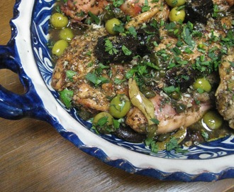 Chicken Marbella:  The Ultimate Party Dish