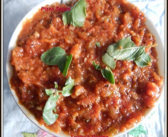 Pizza Sauce and Seasoning - How to make pizza sauce and pizza seasoning at home