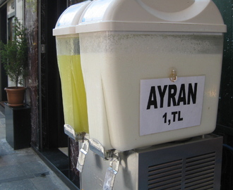 Part II:  The Drinks of Istanbul:  The Others...