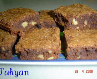 "BROWNIE ""THERMOMIX"""