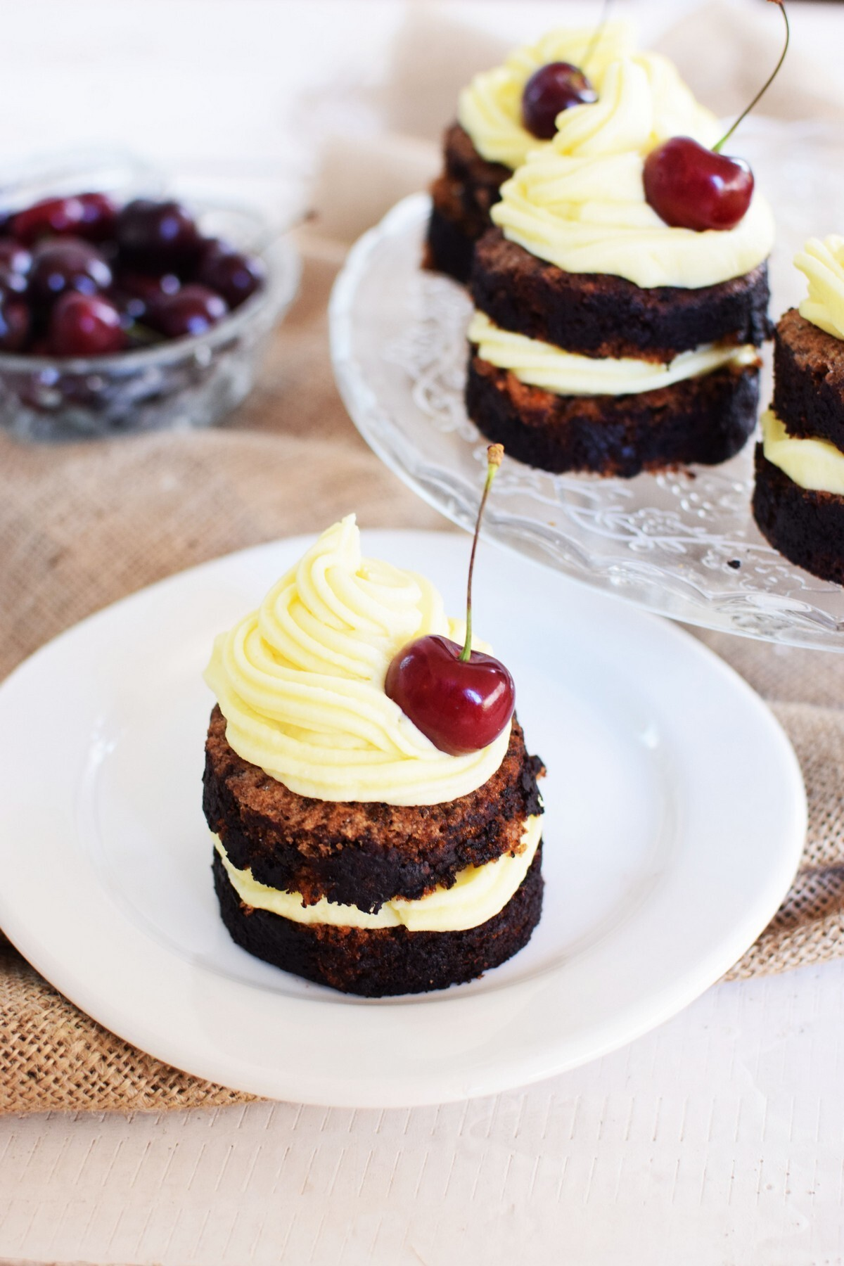 Cherry Cake With Cream Cheese Frosting Recipe