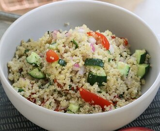 Healthy Quinoa Salad – Fresh, Fast & Delicious