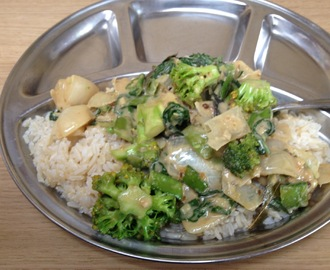 Vegan recept: Thaise Groene Curry
