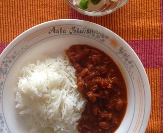 Rajma Chawal / Kidney Beans curry