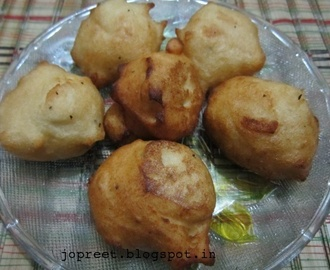 Sweet Ultham Paruppu Bonda - Version 1