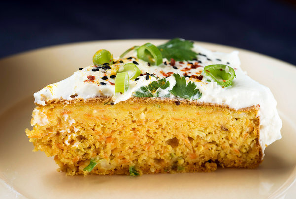Savory Spiced Carrot Cake