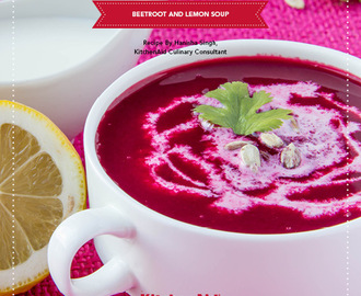 Beetroot And Lemon Soup