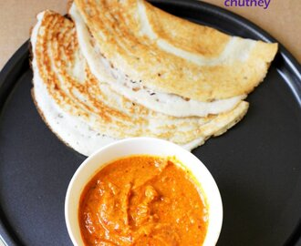Tomato Chutney Recipe | No Coconut, No Onion