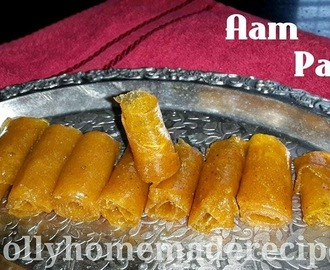 Aam Papad Recipe, Homemade Mango Papad Recipe