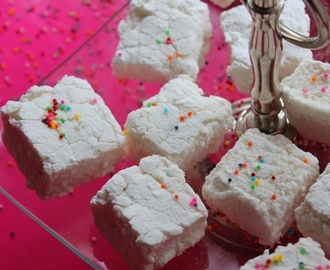 Easy Homemade Marshmallow Recipe ( No Corn Syrup & No Thermometer )