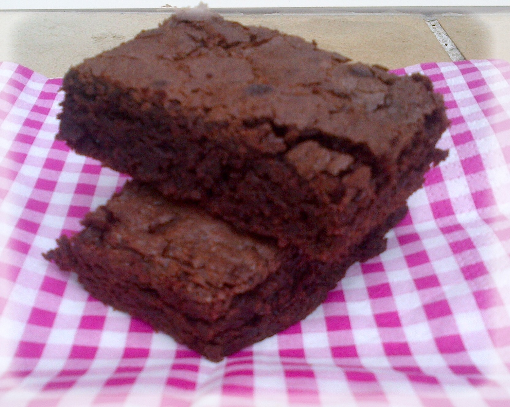 Brownie de Christophe Michalak sans son crémeux